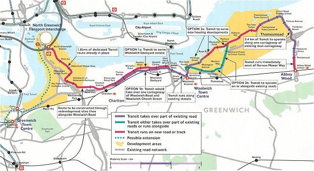 Trolleybus UK – East London Uk Map